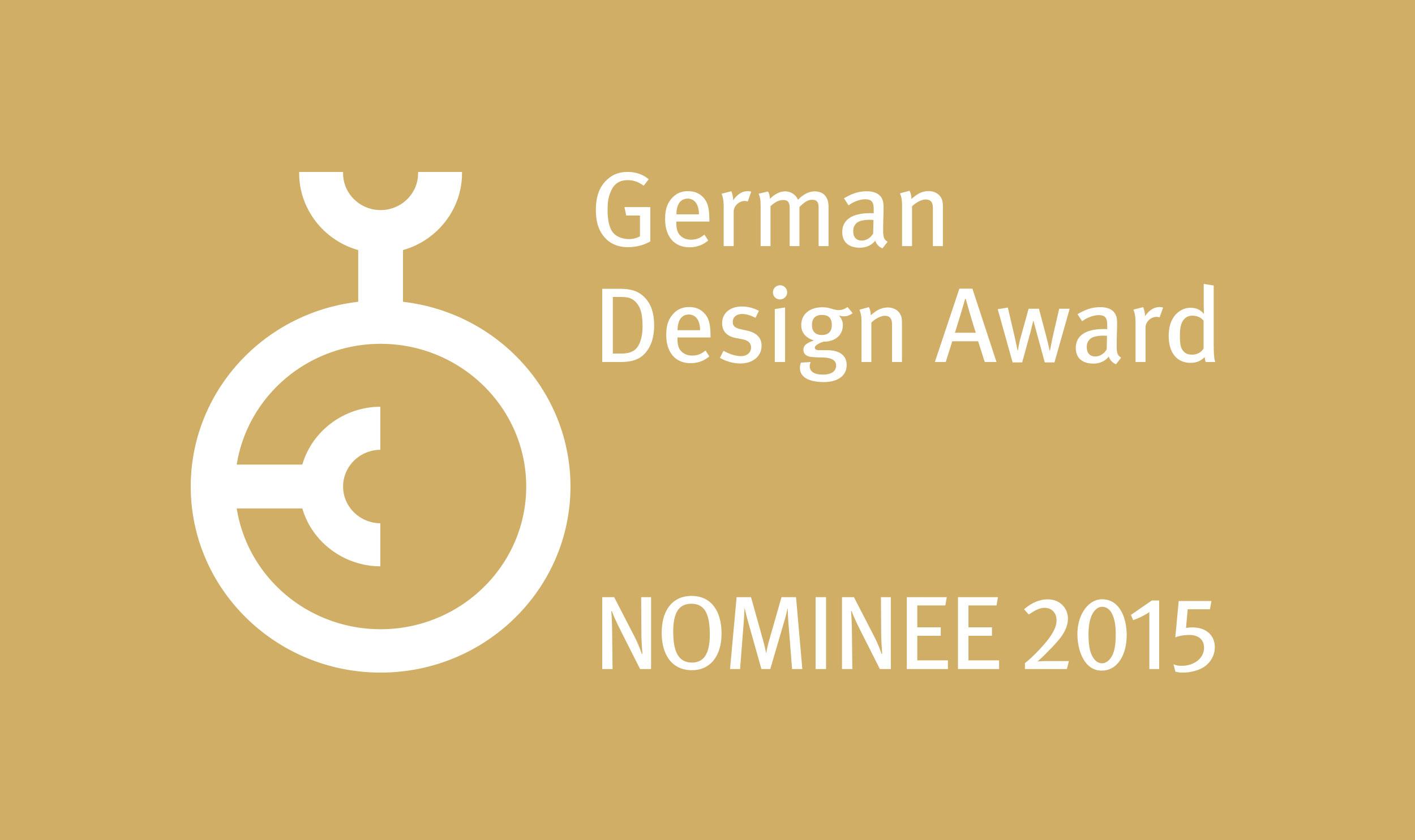 AWARD_German-Design-Award_2015_Nominee