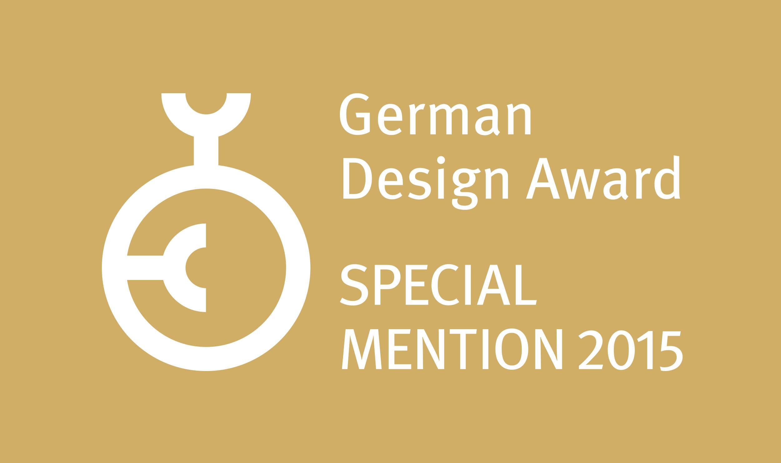 AWARD_German-Design-Award_2015_Special_Mention