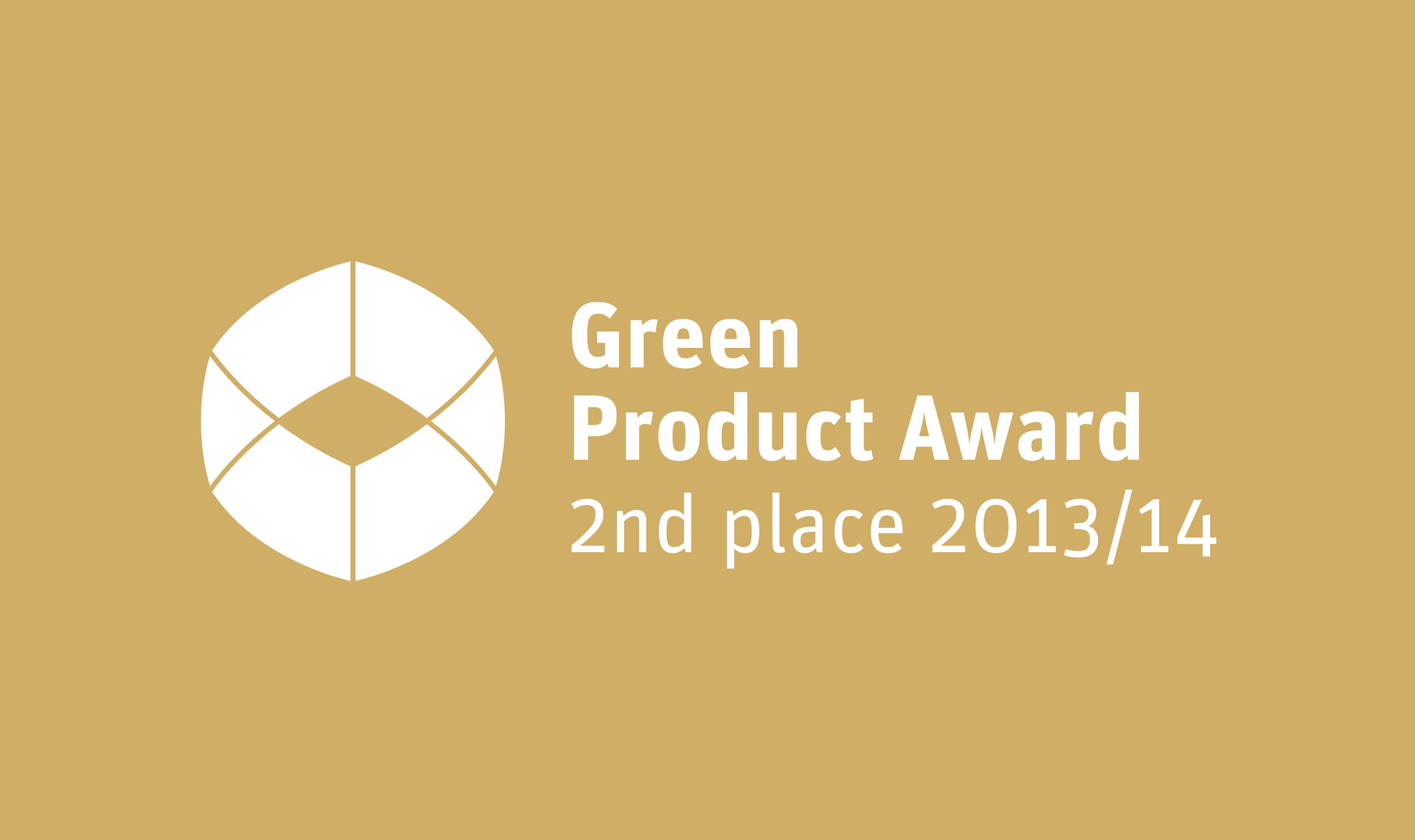 AWARD_Green-Product-Award_2013_2nd