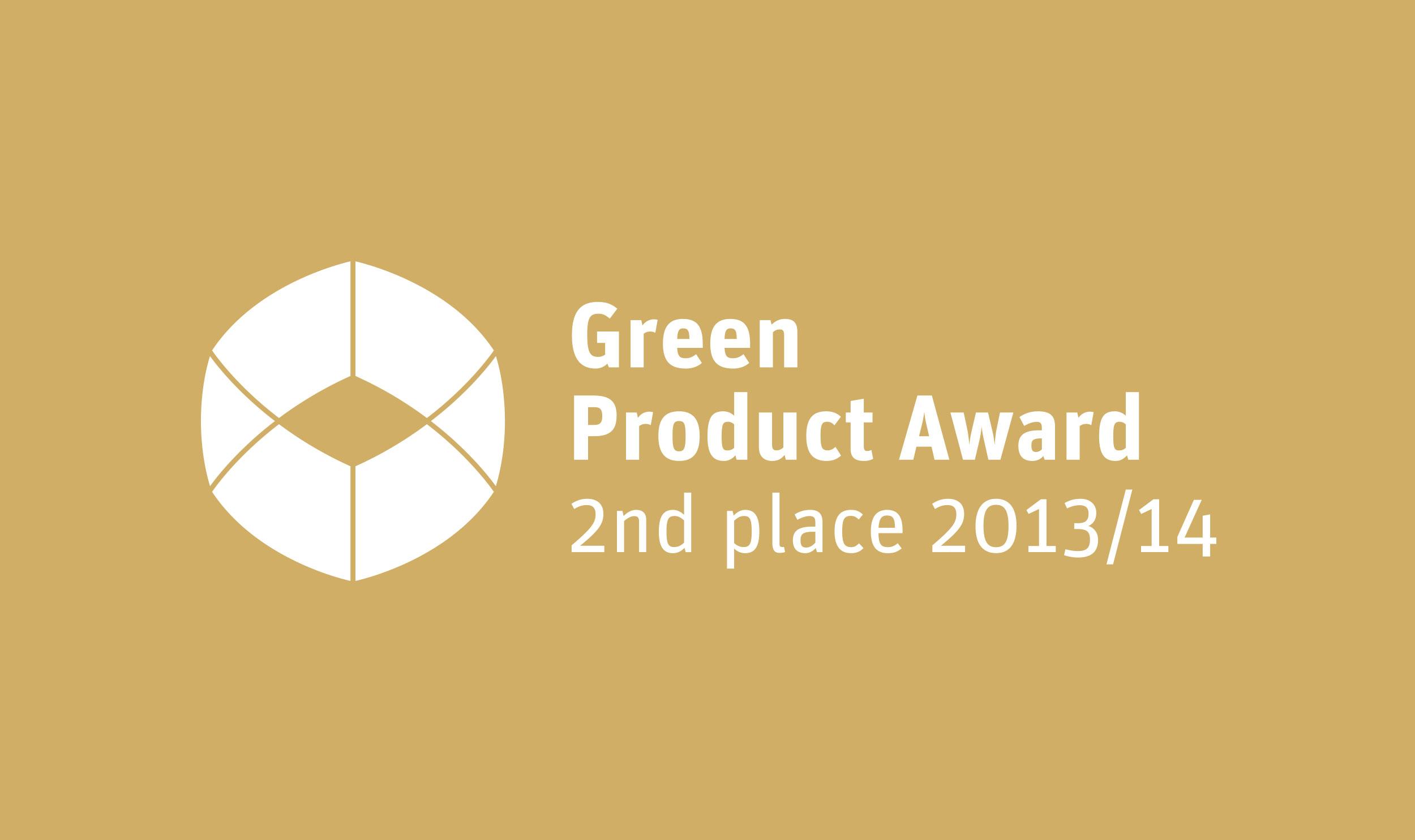 AWARD_Green-Product-Award_2013_2nd