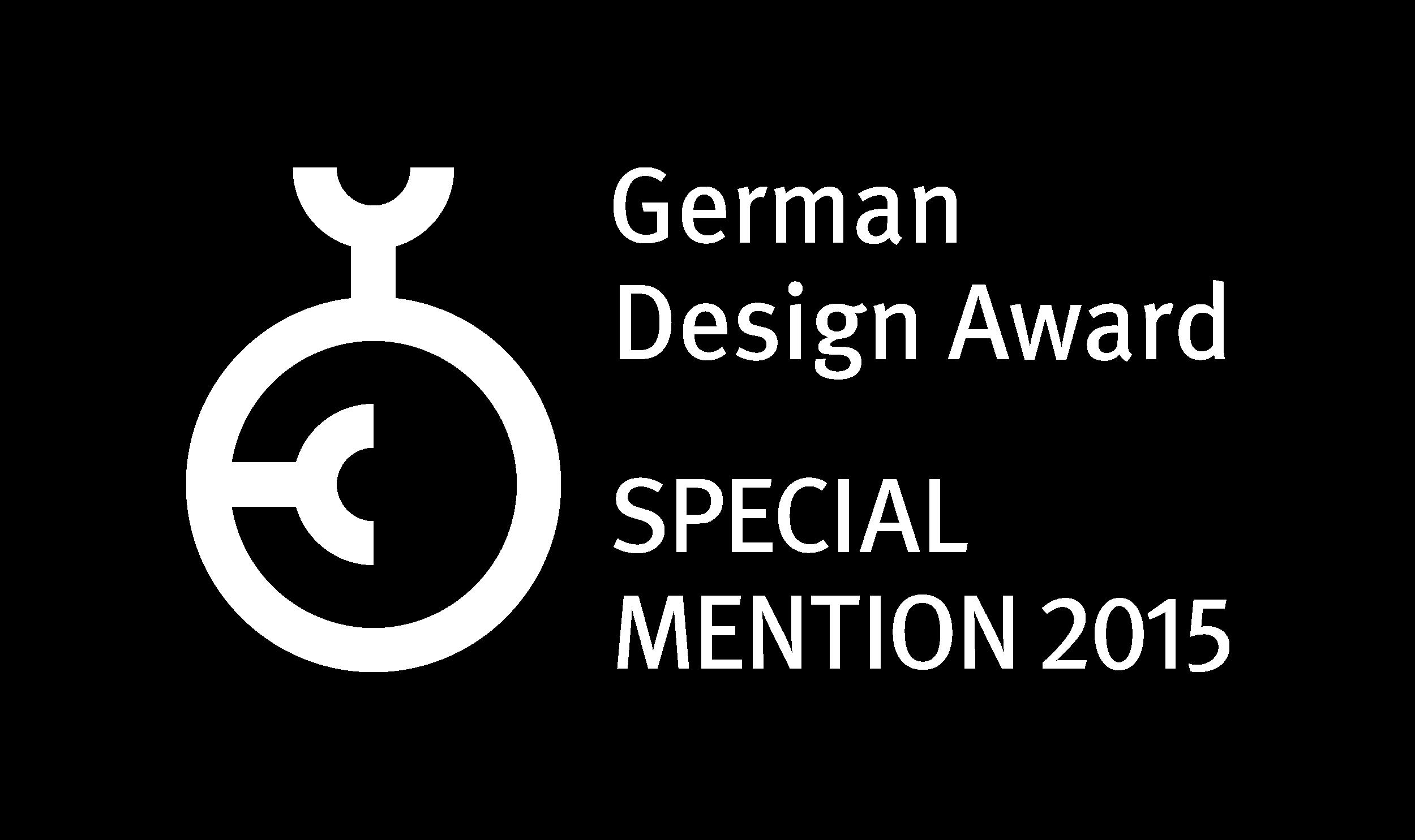 German_Design_Award_Special_Mention_2015